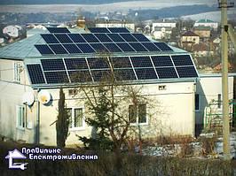 Мережева сонячна електростанція 30 кВт м. Рогатин 2