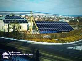 Мережева сонячна електростанція 30 кВт м. Рогатин 3