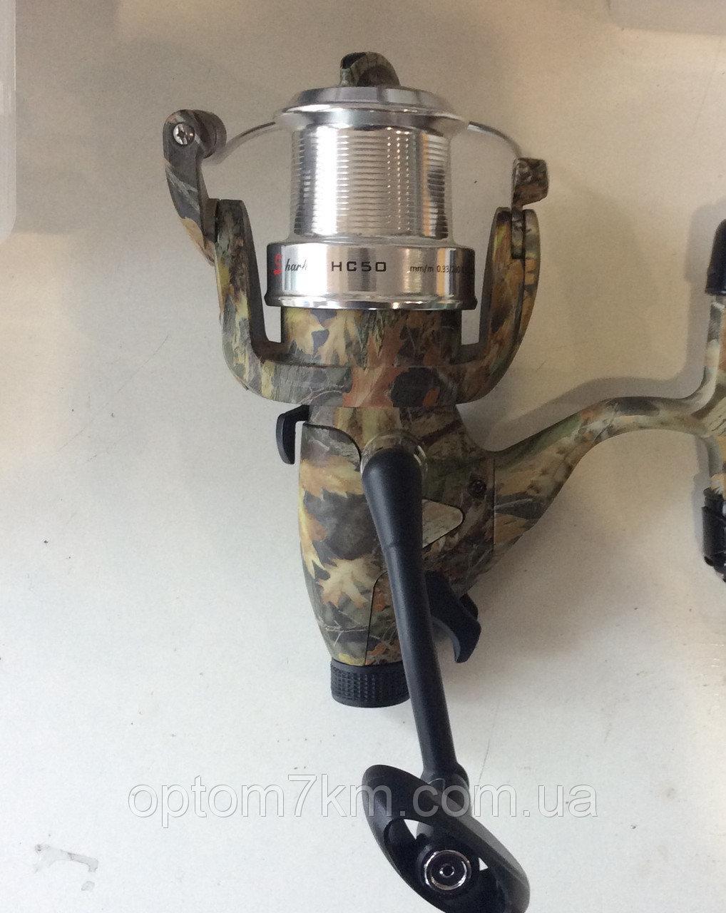 Катушка с байтраннером Shark HC-50, 8+1