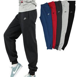 Мужские спортивные штаны Nike (Найк). Черные (Сезон весна лето осень )