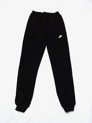 Женские спортивные штаны Nike (Найк) Черные подростковые