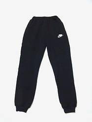 Спортивные штаны Nike (Найк) Темно - синие, подростковые/женские