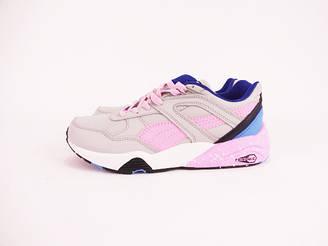 Puma Trinomic r698 кроссовки женские/подростковые серые/розовые