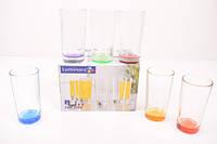 Набор цветных стаканов New York Bright Colors 280мл. 6шт.