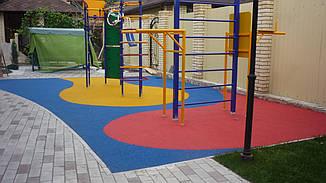 Резиновое покрытие Teking Kids 2S EPDM для детских площадок, фото 3