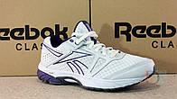 Кроссовки Reebok Running White, тканевые летние сетка Оригинал женские подростковые