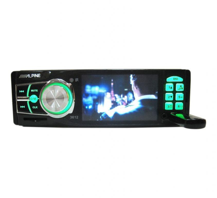 Автомагнитола Alpine 3612 USB MP3 видео магнитола