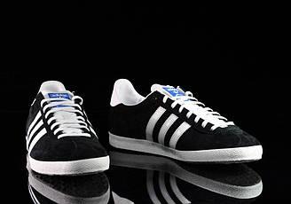 Кроссовки-кеды женские Adidas Gazelle Black оригинал   Адидас Газель женские черные