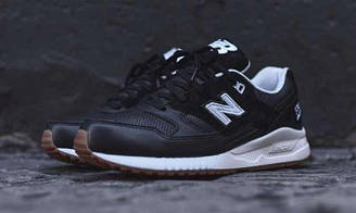 Мужские кроссовки  New Balance 530 Athleisure Pack  Нью Баланс 530 Атлеус  черные оригинал