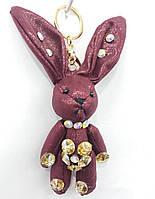 161 Hade made- брелок заяц, брелки для сумок и ключей, подарки оптом. 17 см