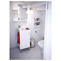 Зеркало для ванной LILLANGEN белое