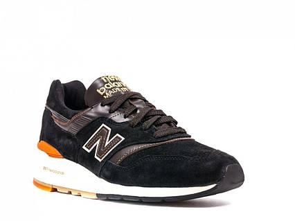 Мужские кроссовки New Balance 997 Autors collection Нью Баланс 997 Ауторс  черные оригинал 05648282846