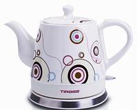 Электрочайник керамический Tiross TS-491 1.2л