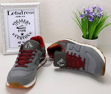 Мужские кроссовки New Balance 574   Нью Баланс 547 серый вулкан ... a3f1c0326d4