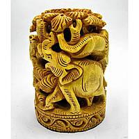 Статуэтка деревянная резная Слон