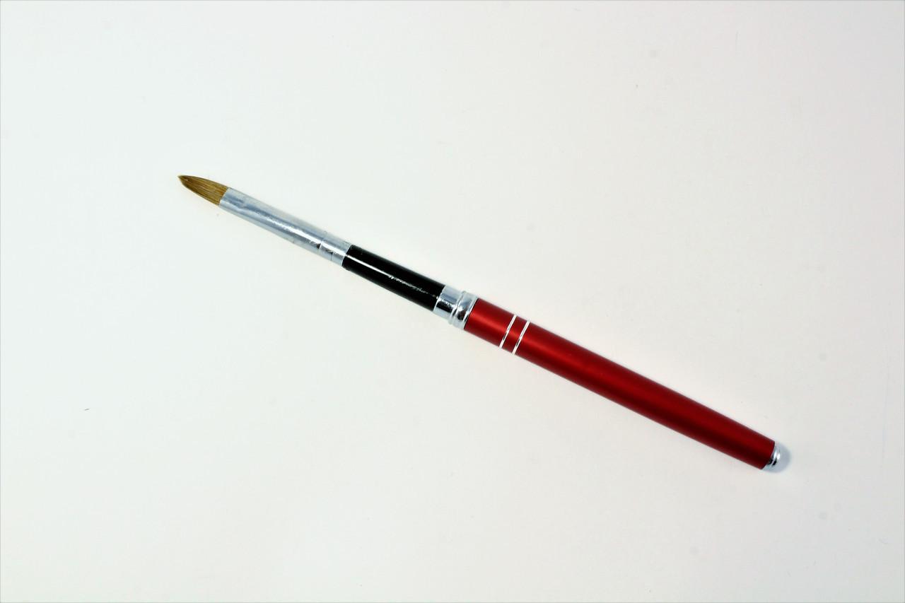Кисть для акрила Salon Professional съёмная ручка №6