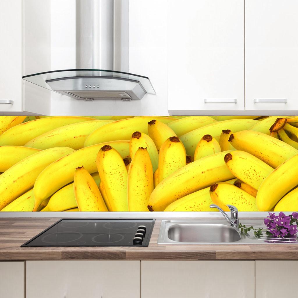 """Фартук на кухню / Скинали """"Банановый рай"""""""