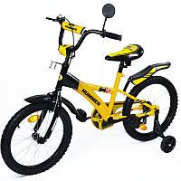 """Велосипед HUMMER 16""""  желтый с черным"""