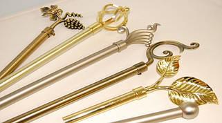 Аксессуары и комплектующие для кованых карнизов 35 мм