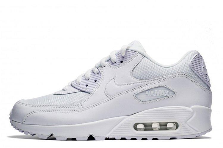 18a94264 Кроссовки Nike Air Max 90 White Essential белые женские/подростковые ...