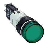 XB6AV3BB сигнальна лампа 16мм 12-24В зелена
