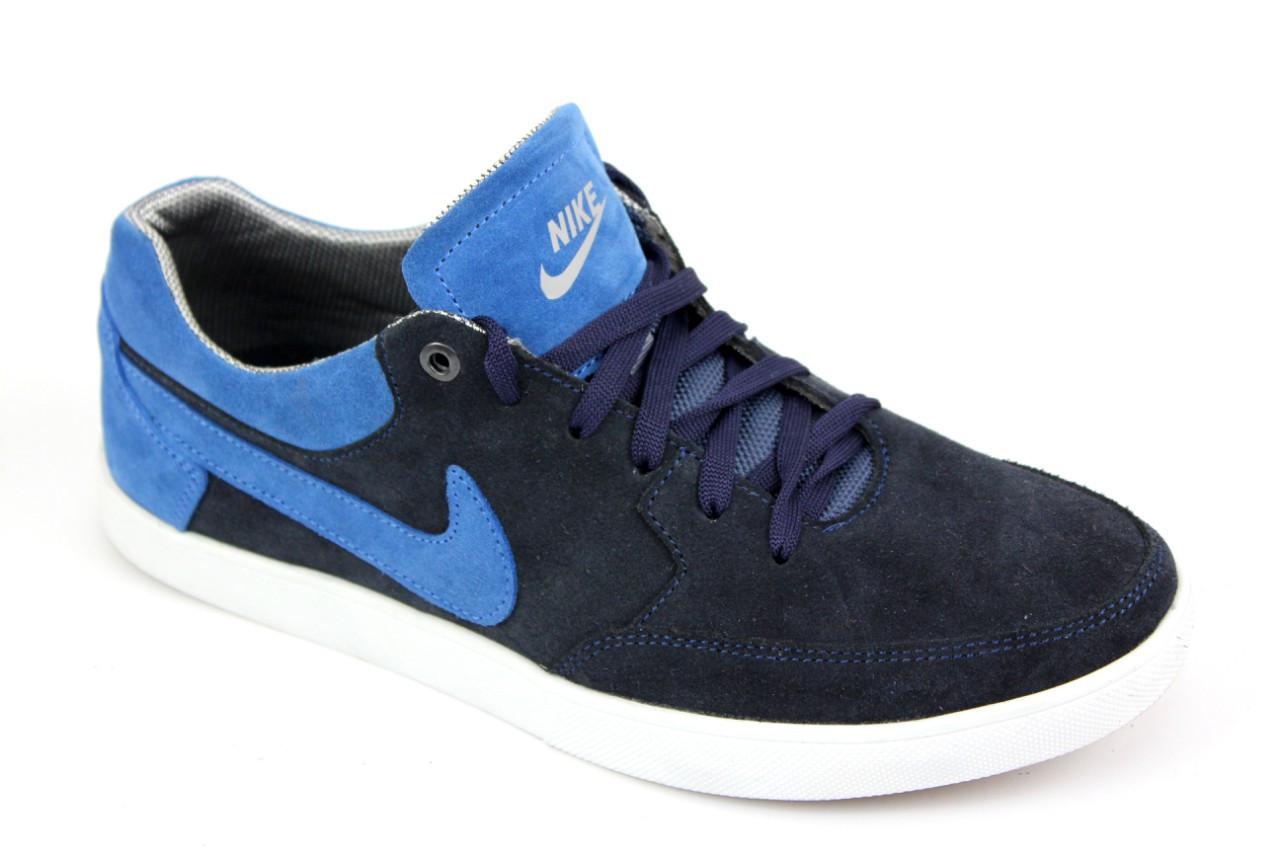 Кроссовки Nike Paul Rodriguez Blue Найк кеды синие