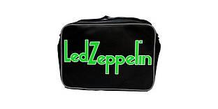 Рок-сумка (зеленое лого) - LED ZEPPELIN