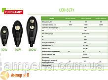 Светодиодный светильник уличный классический COB 30W 3300LM 6000K EUROLAMP LED, фото 2