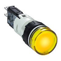 XB6AV5BB Сигнальна лампа 16мм 12-24В жовта