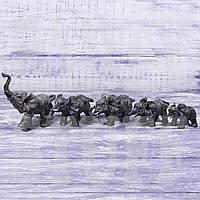 Набор статуэток Слоны,  5 шт