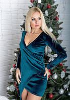 Красивое платье из бархата 1310