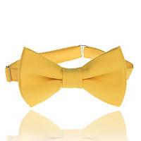 Галстук-бабочка желтая от UDLER, фото 1