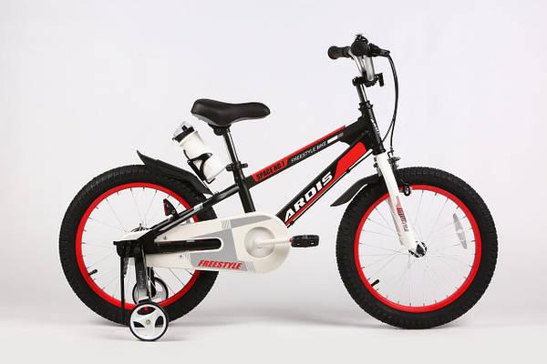 """Детский велосипед ARDIS SPACE 16""""  Черный/Белый/Красный"""