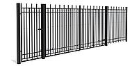 Установка Заборов | Ворот из черного металла для | Монтаж ограждений для дачи | офисных зданий