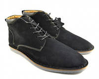 Замшевые осенние ботинки.