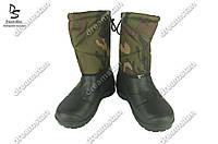 Мужские сапоги бахилы камуфляжные ( Код : БМ-12 кам)