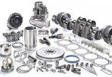 Детали двигателя Mercedes