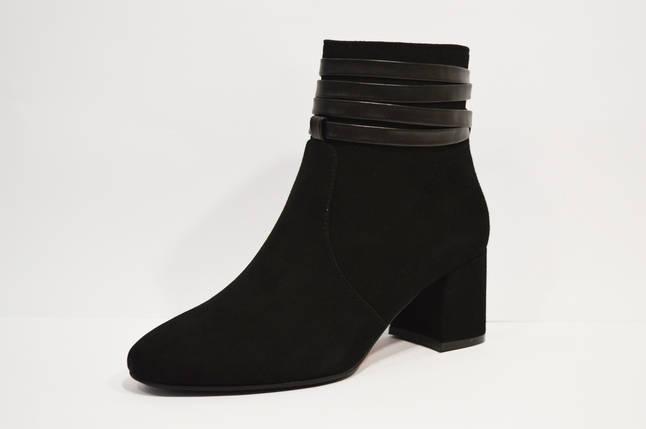 Черные замшевые ботинки Lirio 122, фото 2