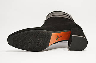 Черные замшевые ботинки Lirio 122, фото 3