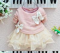 Красивое платье для девочки на рост от 80 и до 116