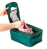 Дорожный органайзер для обуви ORGANIZE  C018 зеленый