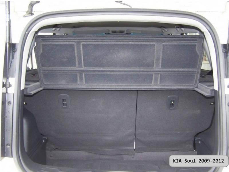 221-1 luggage rack KIA Soul 2009-2012   1