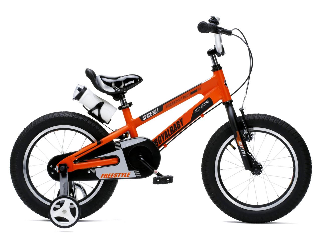 """Детский велосипед Royal Baby SPACE NO.1  16""""  Оранжевый/Белый"""