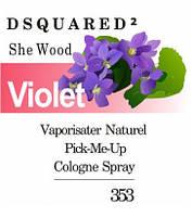 Парфюмерный концентрат для женщин 353 «She Wood DSQUARED²»