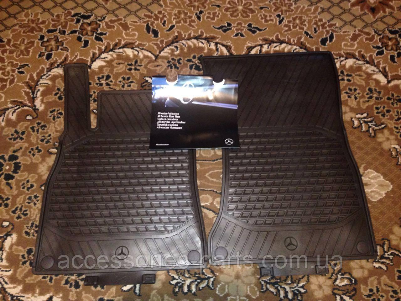 Коврики резиновые в салон Mercedes-Benz S-Class W222 Новый Оригинальные
