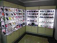 Витрины для мобильных телефонов и аксессуаров. ТО-119