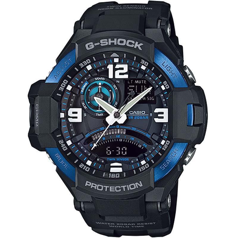 Чоловічий годинник Casio G-Shock GA-1000-2BCR