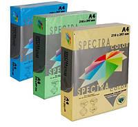Бумага цветная для принтера насыщенный цвет А4 80г/м 500л. SPECTRA color
