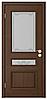 Межкомнатные двери ТРИО 1 ПО каштан
