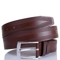 Мужской кожаный ремень y.s.k. shi2025-2 коричневый (Турция)